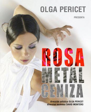 Rosa Metal Ceniza
